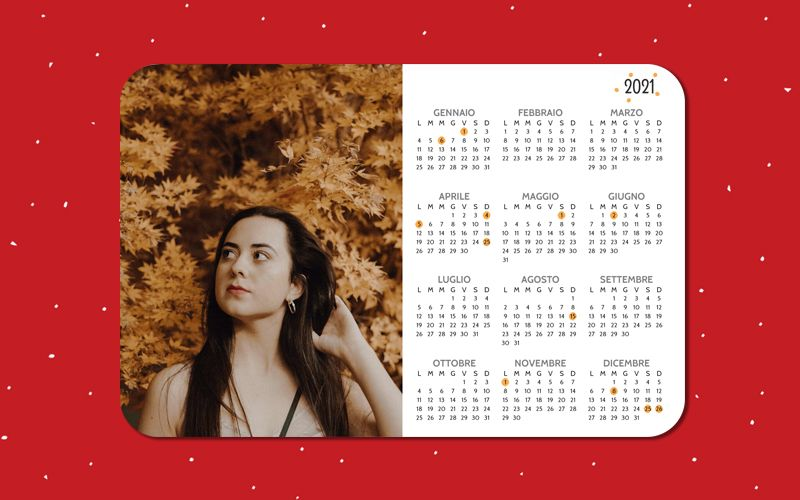 Calendario Mousepad Point