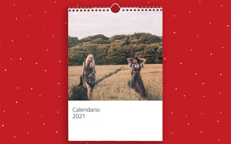 Calendario A4 Semplice