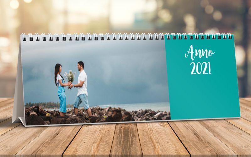 Calendario Da Tavolo Orizzontale Fresh