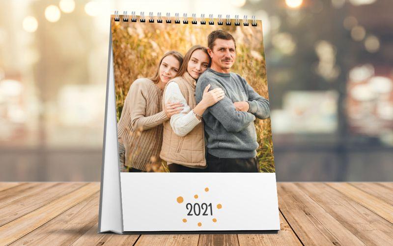 Calendario Da Tavolo Verticale Point