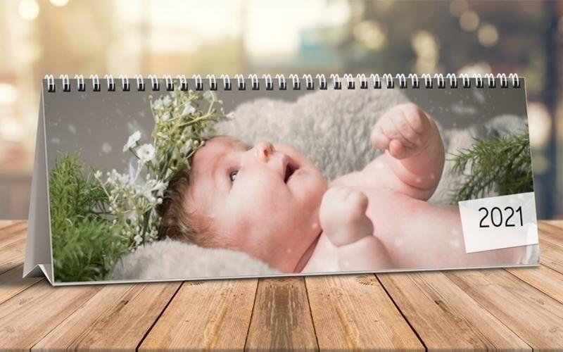 Calendario Da Tavolo Orizzontale